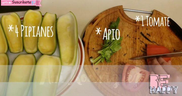 Como Preparar Calabacines O Pipianes Rellenos Con Lentejas Verdes