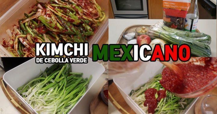 Kimchi Mexicano Recetas De Kimchi De Cebolla Verde Con El