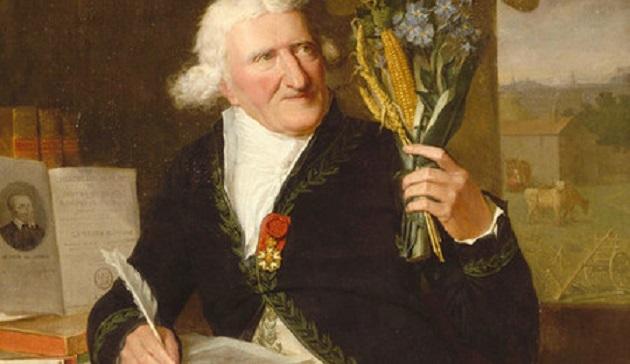 retrato de Antoine Parmentier - La brutal patata y sus consecuencias
