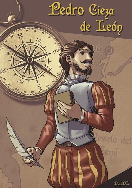 Portada del cómic: Pedro Cieza de León