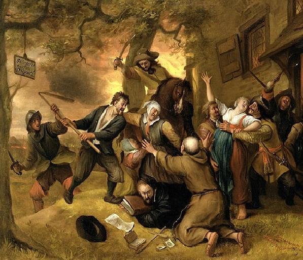 Revuelta de los campesinos en Europa - La brutal patata y sus consecuencias
